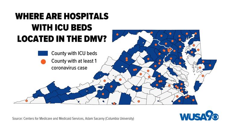 DMV No ICU Beds
