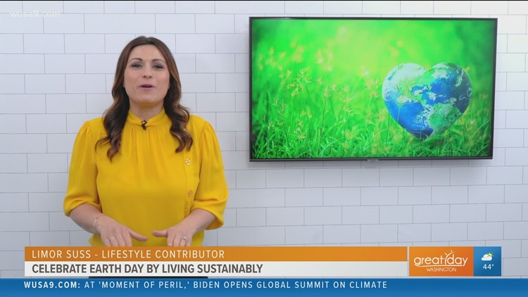 Make a pledge for sustainable living this Earth Day with Eco-friendly household products