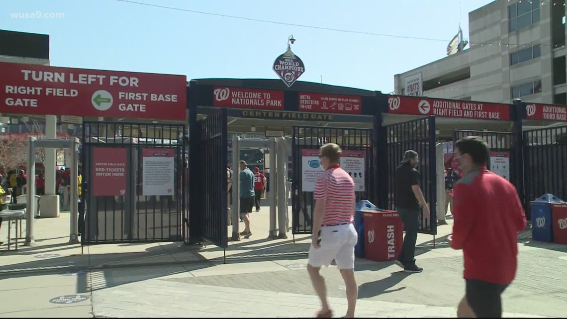 Fans share the excitement of Nats Park being back open amid the rollback of COVID restrictions