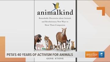 PETA Founder Ingrid Newkirk celebrates 40 years of animal activism with new book called Animalkind