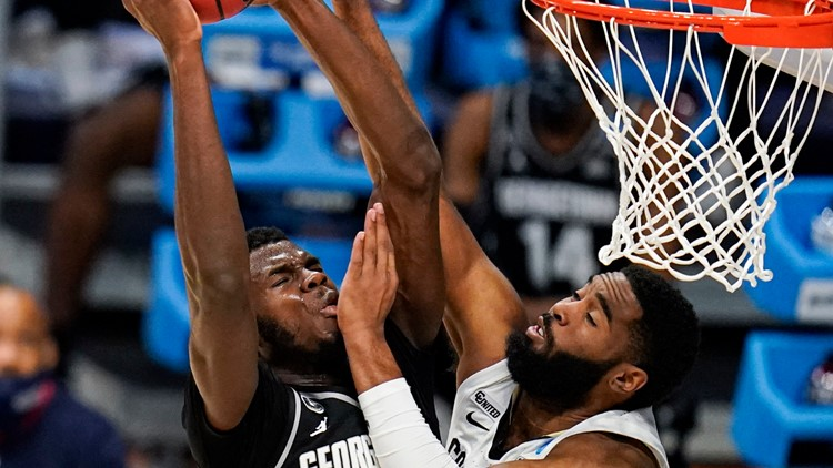 Georgetown falls in first round return to Big Dance, 96-73 against Colorado
