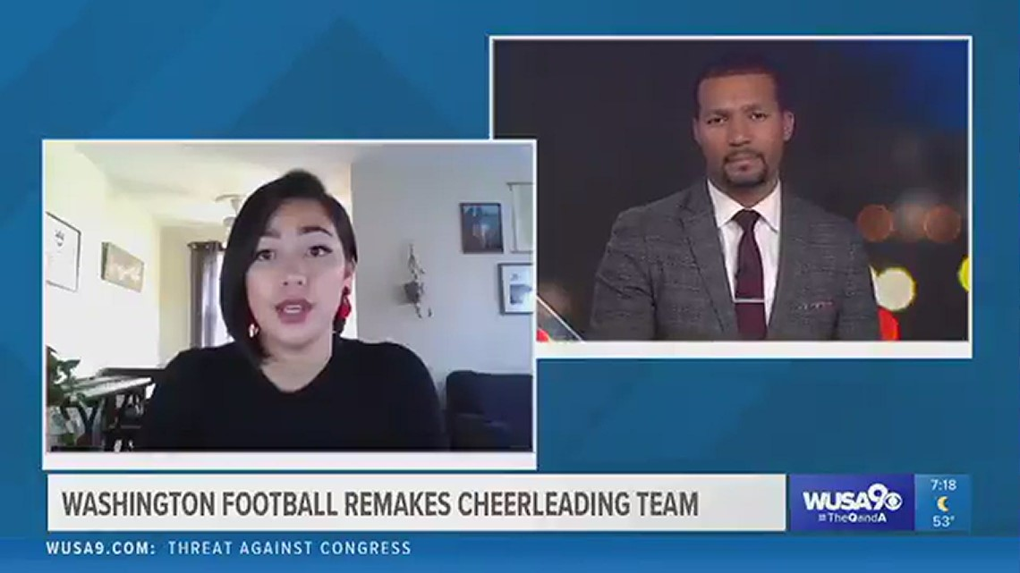 Former Washington Football Team cheerleaders speaks out about changes to dance team