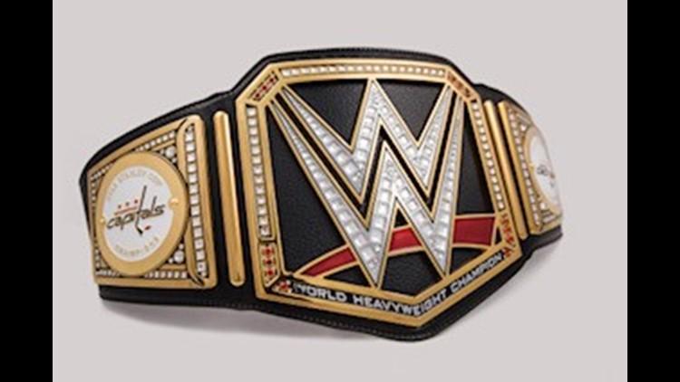 WWE Capitals championship belt