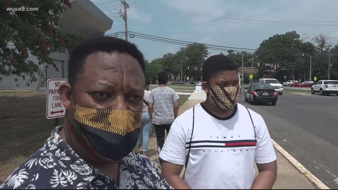 Students, parents react to Prince George's County Schools fall semester mask mandate