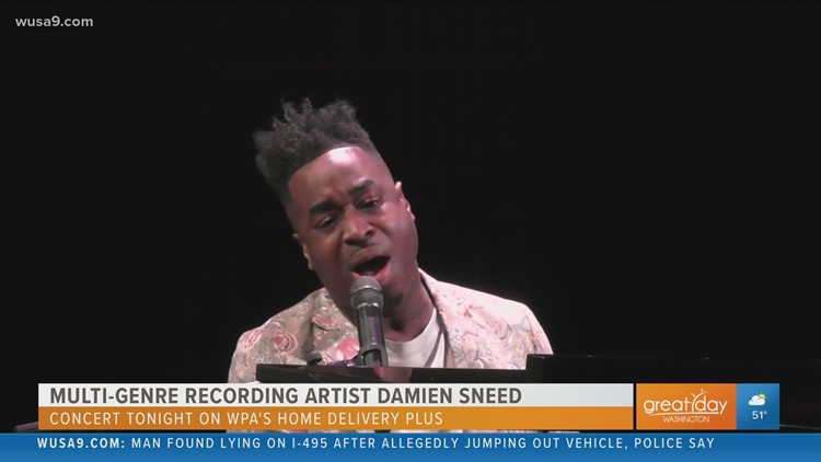 Pianist Damien Sneed wows with a Washington Performing Arts concert