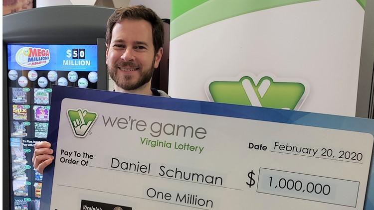 Arlington man wins $1M in New Year's lottery raffle