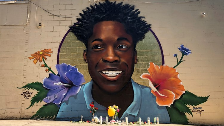 maurice Scott mural