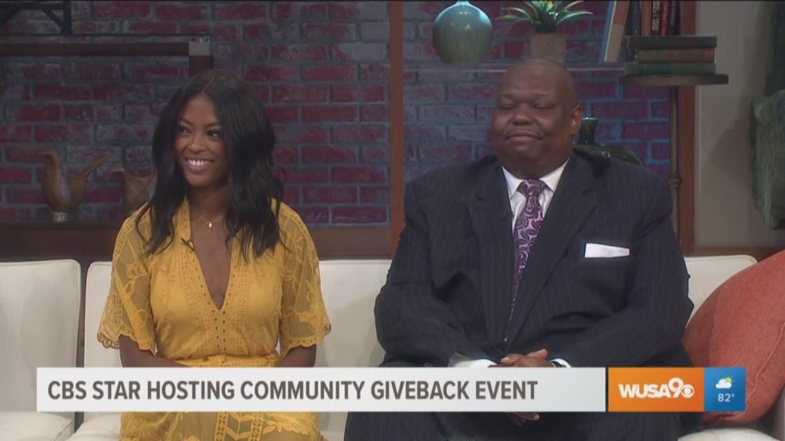Actress Javicia Leslie hosts back-to-school event in her hometown