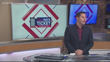 Nationals World Series ticket tracker