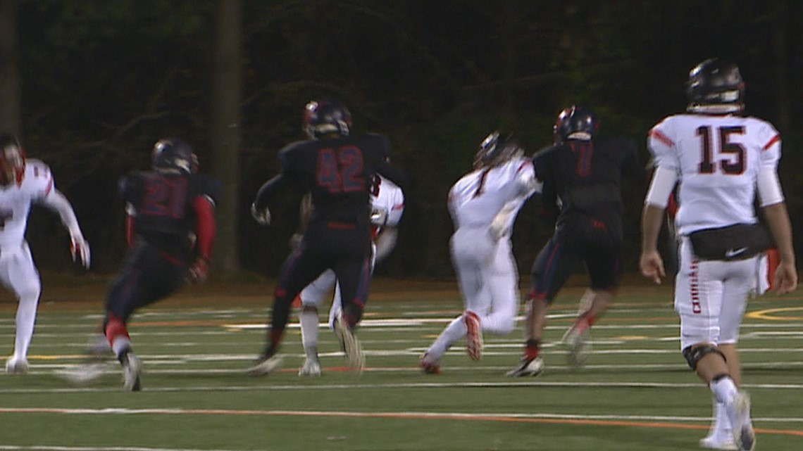 Wakefield High School football players called n-word, spit on during game, parent alleges