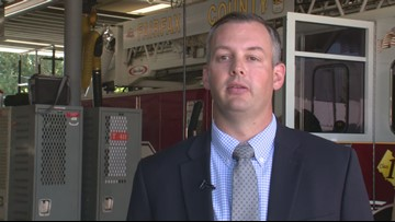 RAW: Fire officials discuss Fairfax County firefighters saving young girl