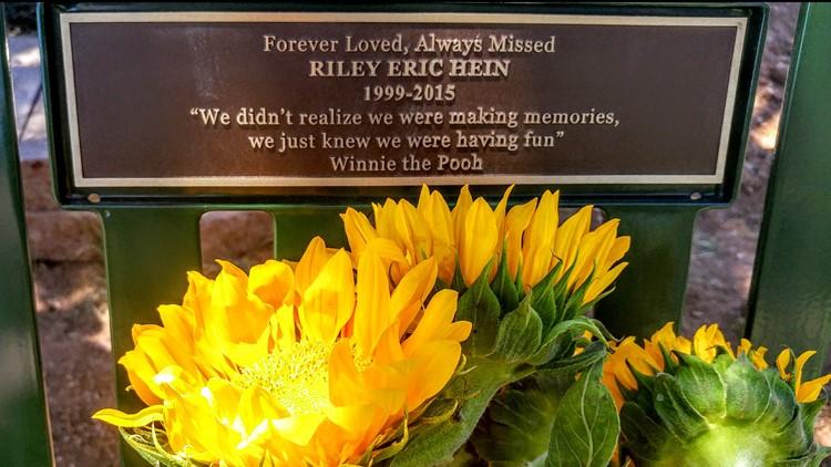 Riley Hein grave marker