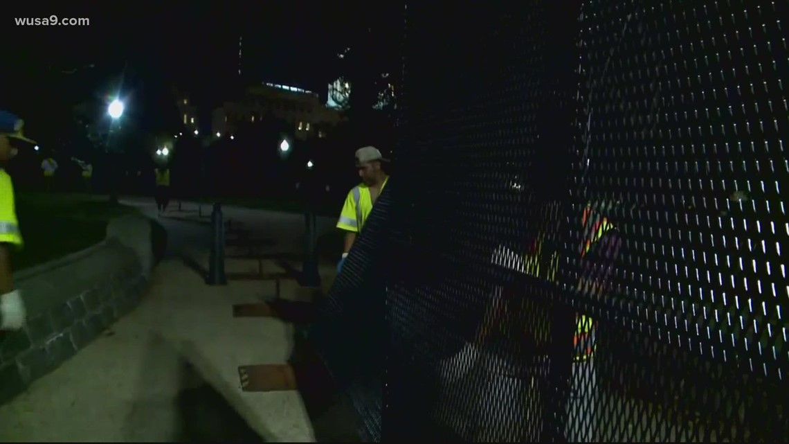 Fencing around US Capitol returns ahead of September 18 rally