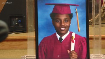 Memorial service for 18-year-old shot and killed in his backyard in Burtonsville