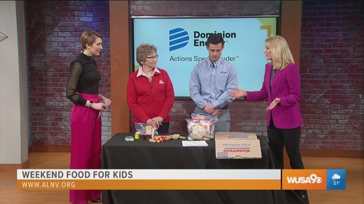 Weekend Food for Kids program provides lunch bags for families of low income students