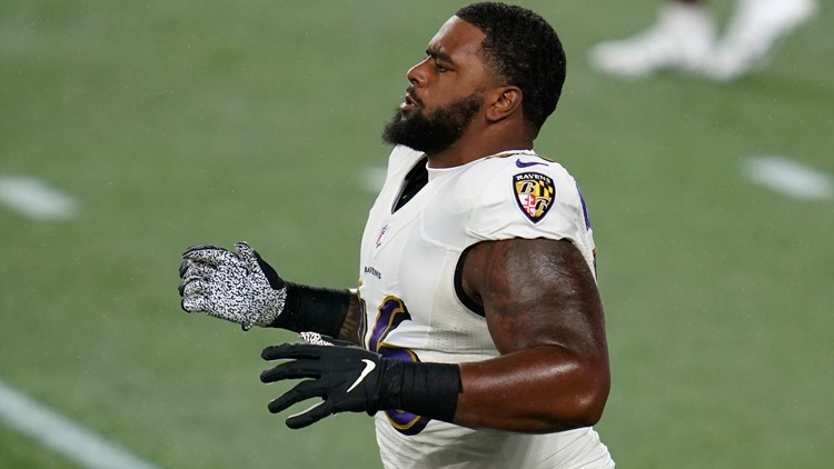 Police: Ravens DL Broderick Washington arrested in Arlington, charged with felony