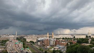 Thursday storms bring damage to DC Metro region