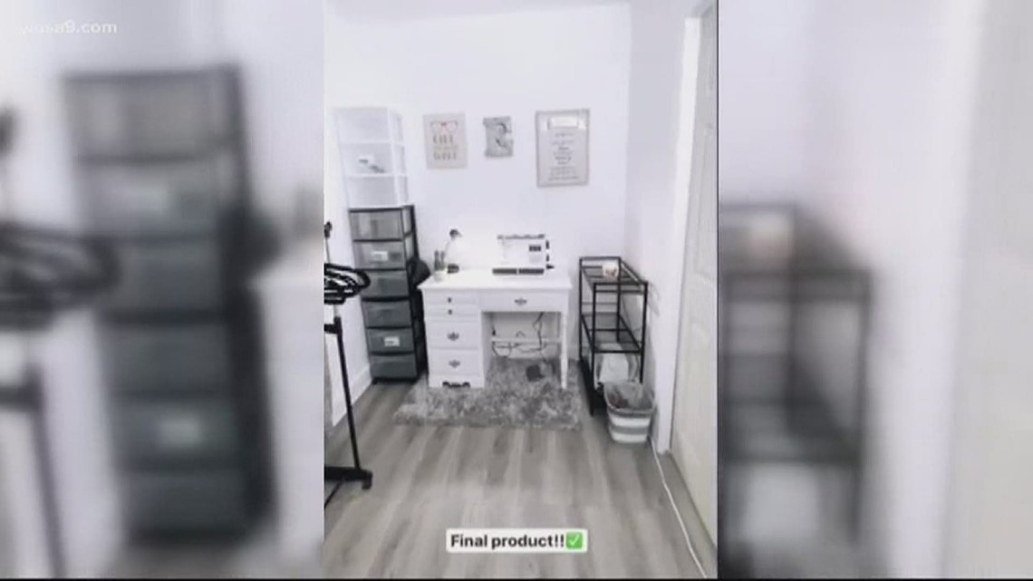Viral video: Big brother transforms room in sewing studio for little sister's face mask business