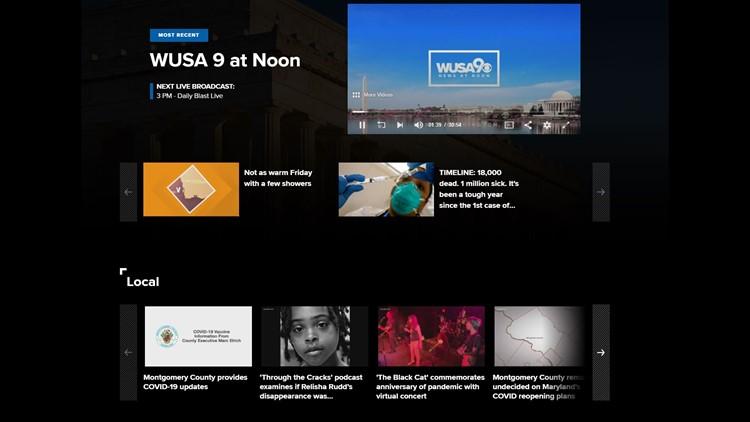 WUSA9 is now on Roku and Amazon Fire TVs