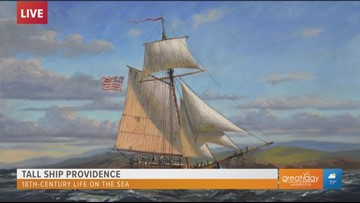 Learn the ropes of 18th-century sailing at the Tall Ship Providence