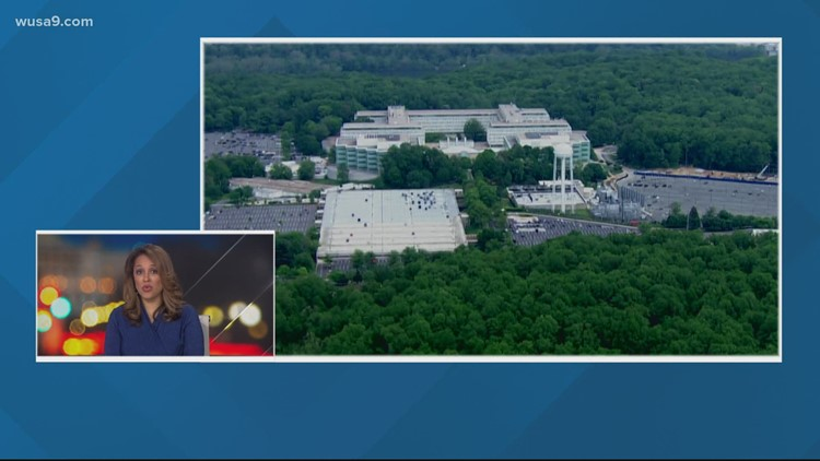 Person shot after federal law enforcement responds to 'suspicious' vehicle outside CIA headquarters in McLean, FBI says