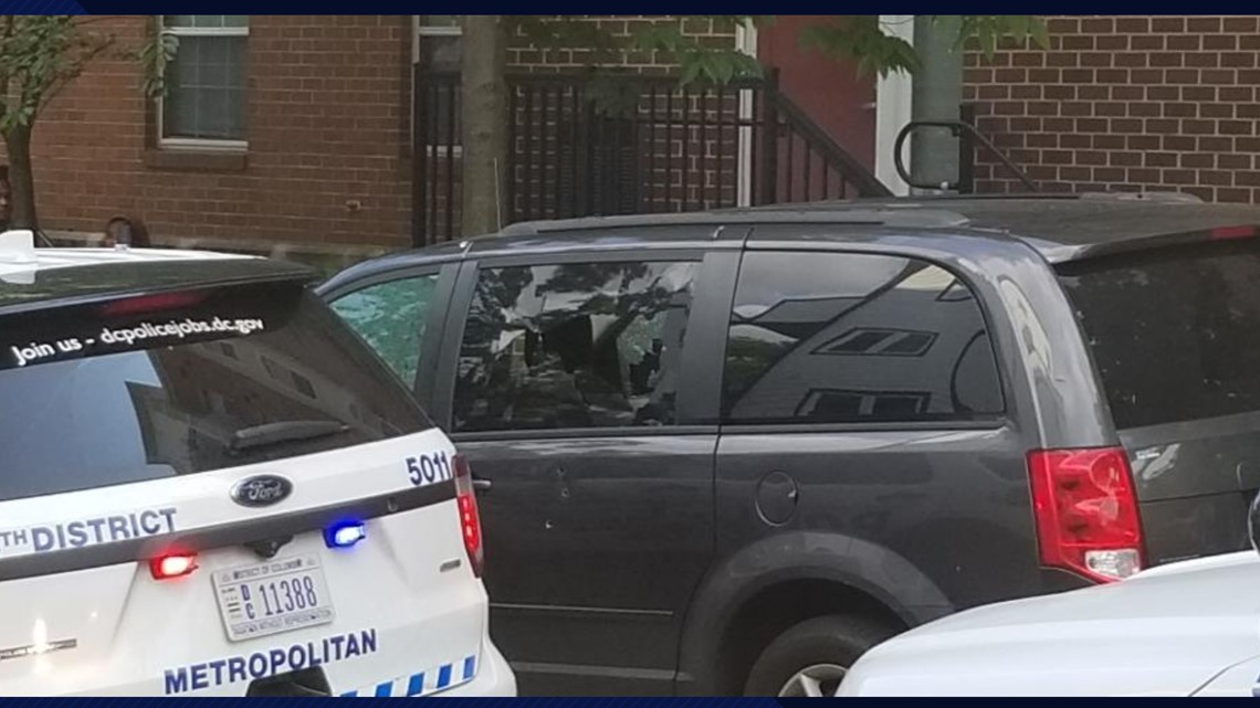 RAW VIDEO: Hear dozens of shots being fired in NE DC neighborhood; 1 man killed, another injured