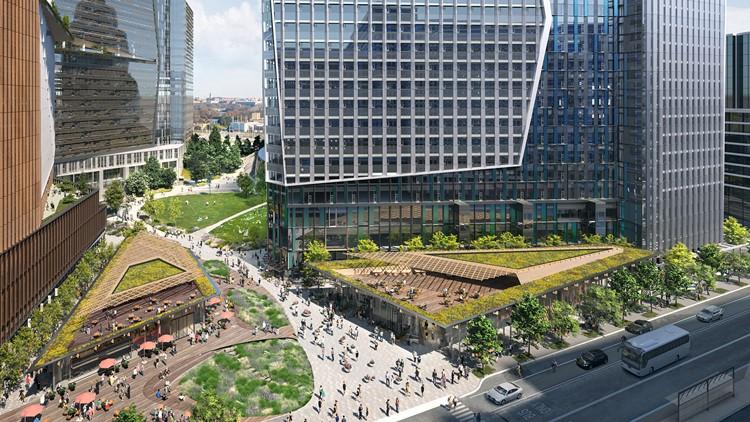 New Amazon headquarters designs of next phase