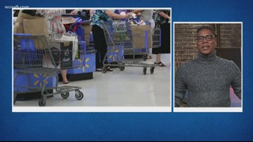 Woman accused of drinking wine from Pringles can in Walmart