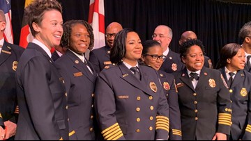 Meet the first female fire department chief appointed in Prince George's County