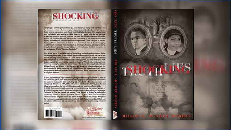 "Millie's new book ""Shocking Truth/Lies"""