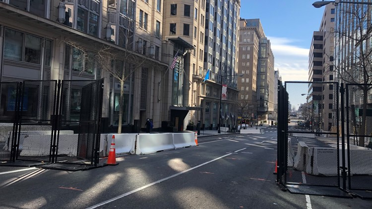 As barriers are removed, DC residents feel a sense of relief