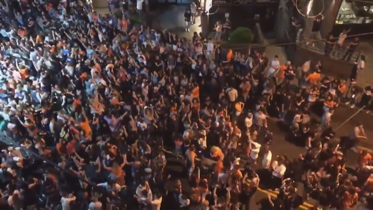 UVA campus returns to normal, day after championship