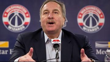 Washington Wizards president Ernie Grunfeld fired