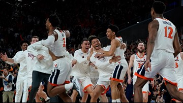 Charlottesville celebrates after Virginia defeats Texas Tech to clinch first-ever NCAA championship