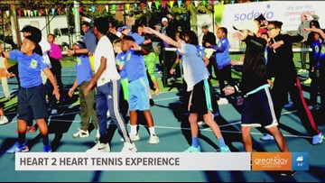 18th Annual Heart to Heart Tennis Experience