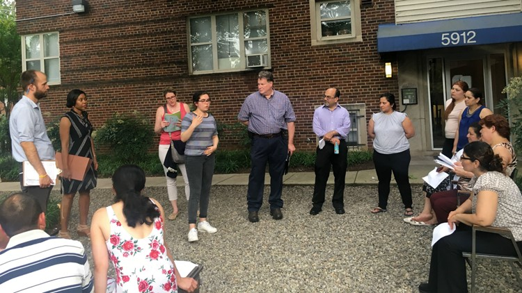 5912 14th Street NW tenants meet to talk about forming co-op