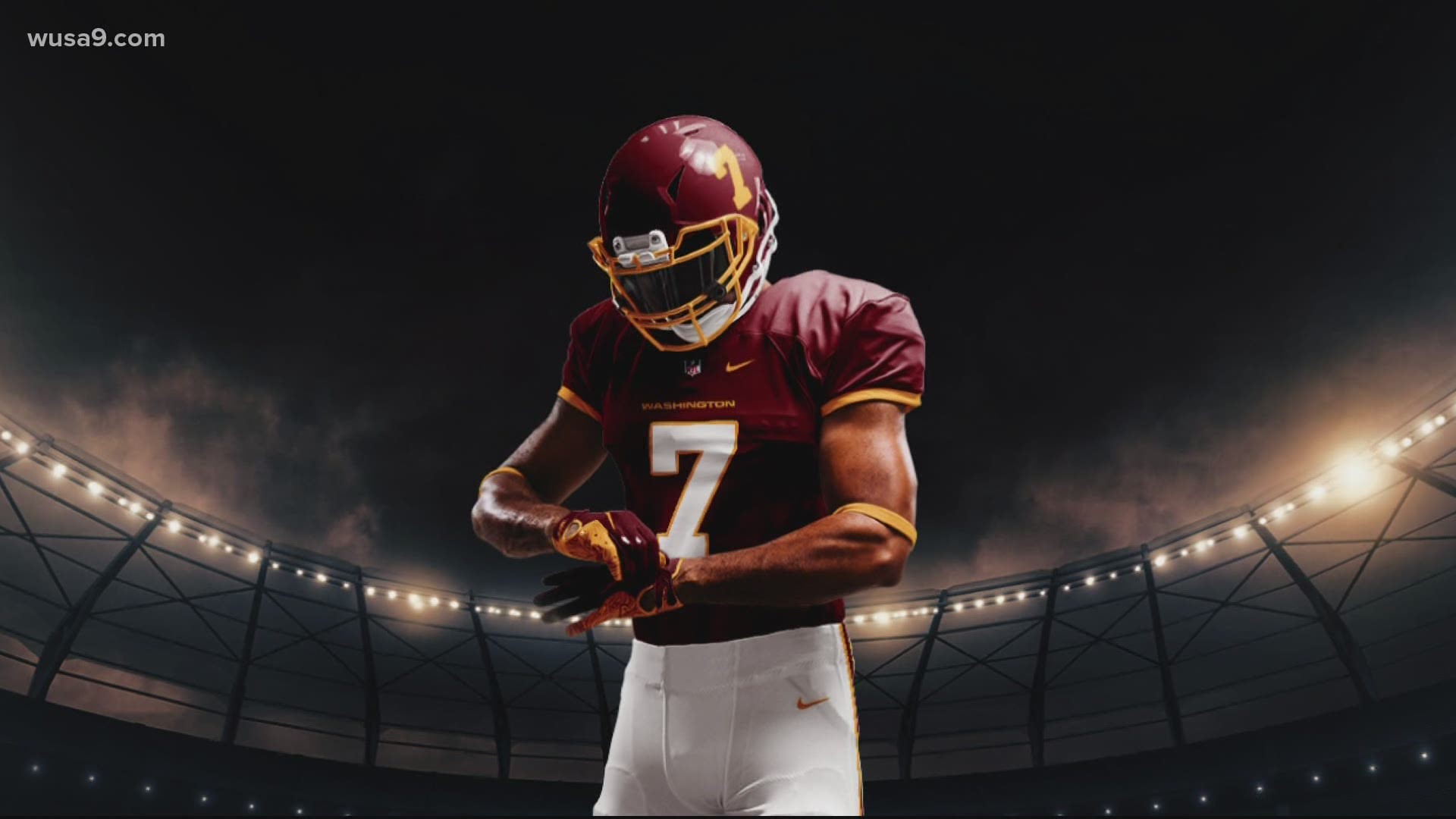 Dc S New Nfl Name Washington Football Team Just For 2020 Season Wusa9 Com