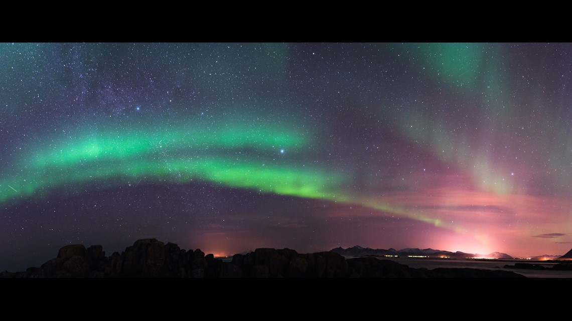 Northern Lights may be visible tonight in part of the US from