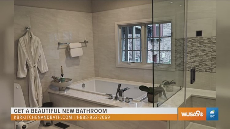 wusa9.com   Get a beautiful new bathroom from KBR Kitchen and Bath