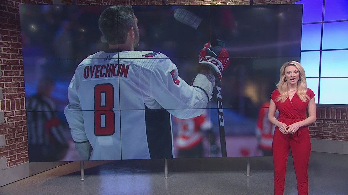 First place Capitals entering home stretch with Ovechkin's return in question
