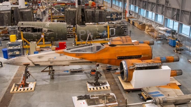 Here's when you can check out a 'Star Wars' X-Wing at the Smithsonian