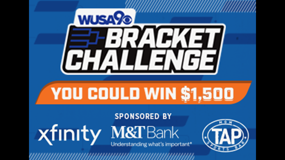 Enter to win the WUSA9 March Madness bracket challenge