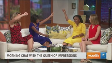 Sylvia Traymore Morrison brings morning laughs to the Great Day studios