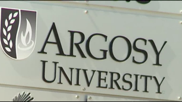 Hundreds of Argosy University students in the DMV left in