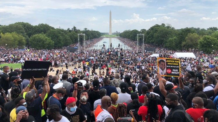 Recap: Speeches of hope and passionate calls for change at the March on Washington