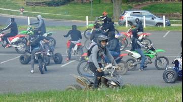 Police offer reward for info on DC dirt bike, ATV riders