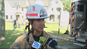 Person rescued from trench by Fairfax County fire crews
