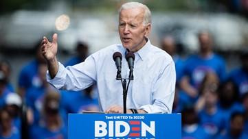 Joe Biden wins Democratic primary in Virginia on Super Tuesday