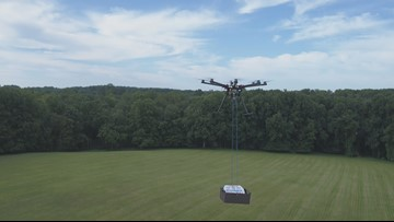 'Hangry' drone aims to change food delivery