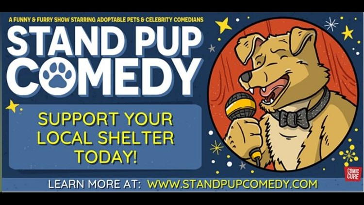 Barks, purrs and laughs! | 'Stand Pup' online comedy event benefits Montgomery County Humane Society